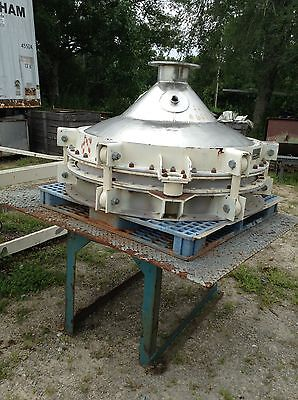 Used Stainless Steel Bin Activator 48 Dia.