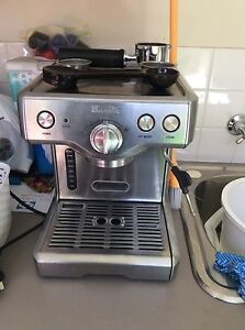 Breville coffee machine - stainless Flinders Shellharbour Area Preview