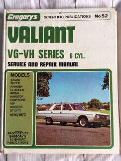 Gregory's valiant service and manual Australind Harvey Area Preview