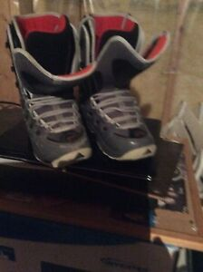 Snowboard, bindings and boots gently used - teen or woman