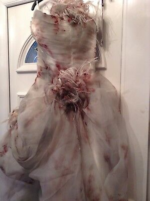 Corpse Bride Cosplay (sexy fancy dress halloween horror zombie corpse bride costume cosplay)