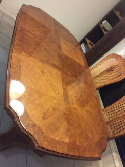 MUST SELL, Downsizing, Extendable dining table and 8 chairs Springfield Ipswich City Preview