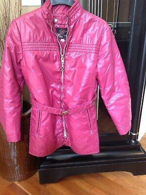 Vintage Ski Jacket,Coat,Parka,Retro 70s,Ladies,Sears Authentic Skiwear Belted Lg - Authentic Pink Ladies Jacket