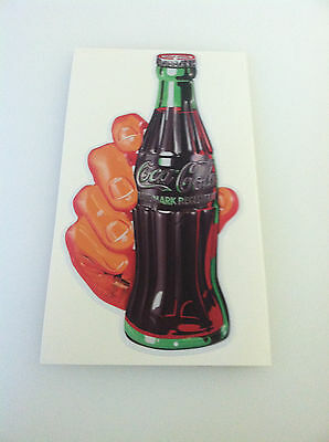 COCA COLA PEPSI COLA DECAL SODA HAND STICKER 6""