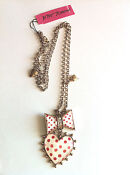 Betsey Johnson Polka Dot Necklace