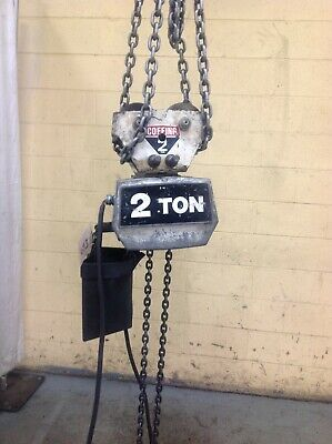 2 Ton Coffing Electric Chain Hoist Yoder 65317