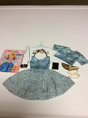 Vintage Ideal Tammy Doll Dreamboat Outfit  9153 8 Complete Original Owner 1962