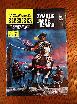 Originalausgabe Illustrierte Klassiker Nr. 191 Zwanzig Jahre danach BSV Verlag