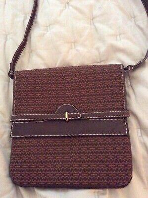 RARE Vintage Mark Cross Signature Crossbody/Shoulder Envelope Bag. Mint!