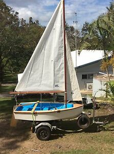 9ft Sailing Boat - Hand Built Forest Glen Maroochydore Area Preview