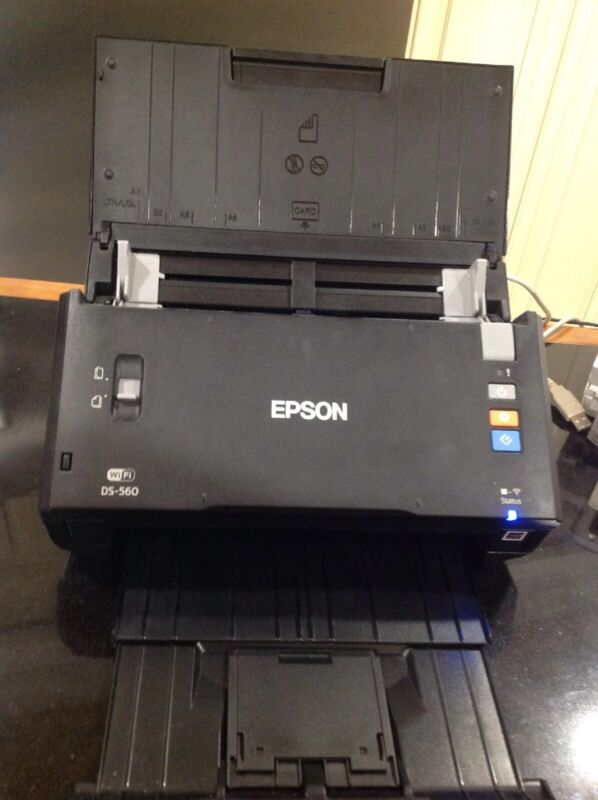 Epson WorkForce DS-510 Color Document Scanner Black WorkForce DS-510- B11B209201
