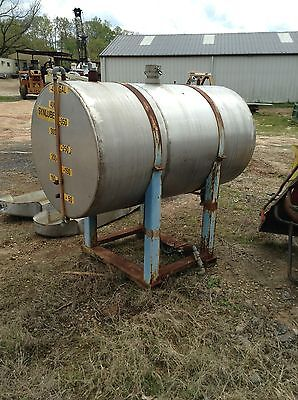 Used 500 Gallon Stainless Steel Tank