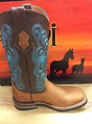 Women's Western Boots Cowgirl Boots Cowboy Botas in Chocolate or Brown -