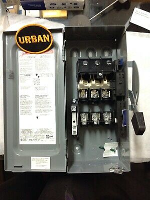 Square D - Safety Switch 60a 240vacv 5060hz