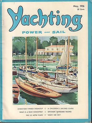 Yachting May 1956 Direction Finder Roundup, Offshore Outboard 050517nonDBE