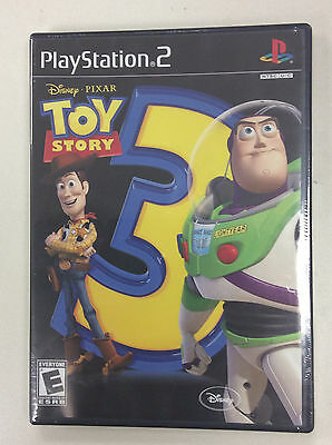 TOY STORY 3 THE VIDEO GAME - PLAYSTATION 2 PS2 (SONY PLAYSTATION 2, 2010) - Toystory Games