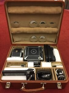 "Linhof Super Technika IV  -   4""x5"" vintage film camera"