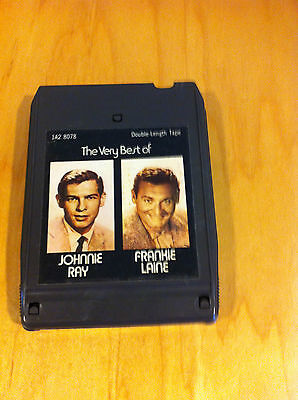 The Best Of Johnnie Ray / The Best Of Frankie Laine  8-Track