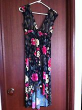 Mai Loui size 12 floral black dress Woodside Adelaide Hills Preview