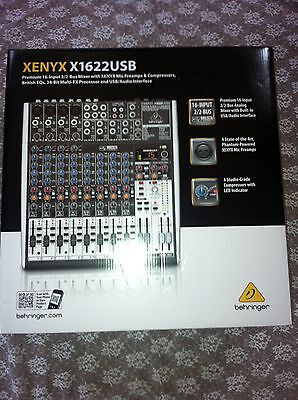 Behringer XENYX X1622USB USB Mixer with Effects NEW! on Rummage