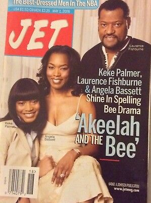 Jet Magazine Keke Palmer Laurence Fishburne May 1  2006 090417Nonrh