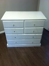 Tall boy chest of drawers Kings Park Blacktown Area Preview
