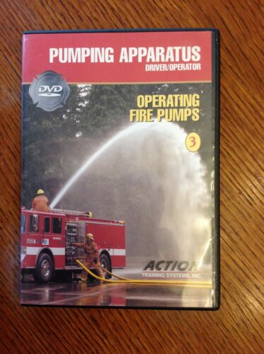 Action Training DVD Fire Fighter Pumping Apparatus - Apparatus Inspection