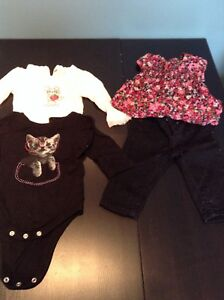 15 pc lot baby girl clothing 3-6 months BabyGap great cond. $10