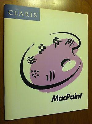 Руководство CLARIS MacPaint owner's guide manual