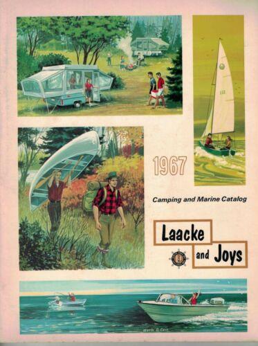 Vintage 1967 Laacke and Joys Milwaukee Camping & Marine Catalog ++++