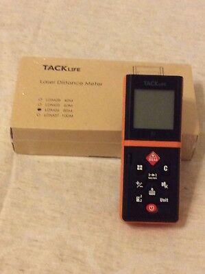 Tacklife Laser Distance Meter 262 Ft Digital Laser Tap Measure