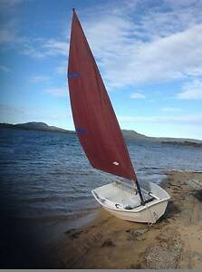 Boat: Sail, motor, row or paddle - Guppy dinghy Hobart CBD Hobart City Preview