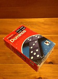 Dominos toy game Double Six Wooden Dominos Windsor Region Ontario image 1