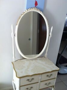 Vintage antique Queen Anne dressing table Pimpama Gold Coast North Preview