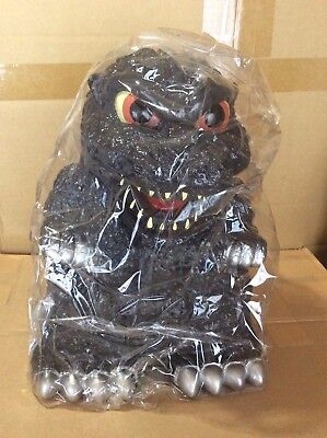 Rare Godzilla Extra Large Piggy Bank King   New In The Box  With Accessories