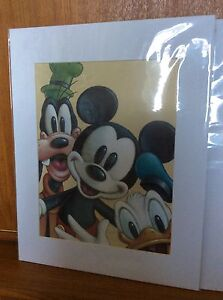 Framable Art - Mickey Mouse and Friends