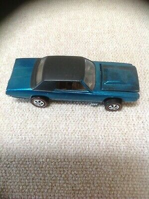 Vintage Hot Wheels Redline Custom T Bird Teal Mint !!