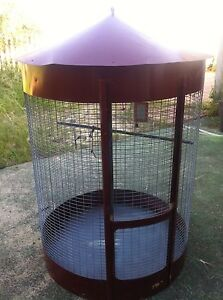 Large Round Bird/cocky cage South Guildford Swan Area Preview
