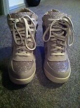 Size 8 wedge sneakers. Collingwood Park Ipswich City Preview