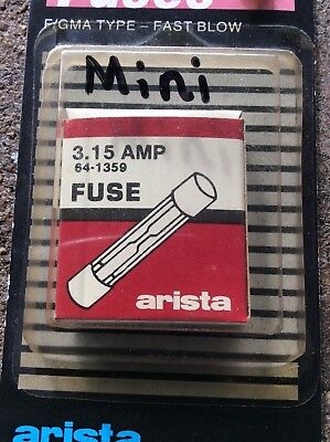 3.15 Amp Fgma - Type Fuse-fast-blow  5-per Pack