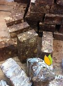 1lb Pure Natural Raw African Black Soap from Ghana - 16oz Handmade Organic Soa