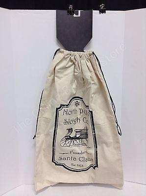 canvas large  Christmas tree gift storage santa present tote bag cinch sack](Christmas Tree Storage Tote)