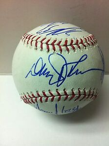 2012 WASHINGTON NATIONALS Team Signed Autographed Ball Baseball GIO GONZALEZ ++