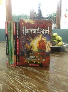 Goosebumps horrorland books
