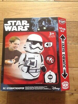 New Star wars RC Stormtrooper inflate &play