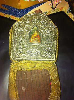 adorable antique little tibetan buddha box number 2