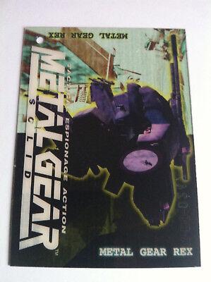 "Metal Gear Solid Trading Cards ""Chicken"" #071 Metal Gear Rex Mint"