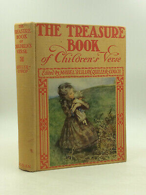 THE TREASURE BOOK OF CHILDREN'S VERSE by Mabel and Lilian Quiller-Couch ](Treasure Bible Verse)