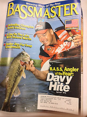 Bassmaster Magazine Davy Hite Angler Of The Year July August 2002 042617Nonr2