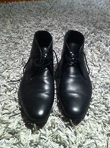 Black leather Country Road boots St Agnes Tea Tree Gully Area Preview